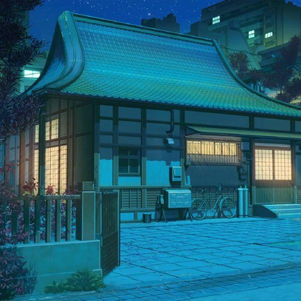 Mac高清壁纸推荐:卡通日本神庙桌面动态壁纸