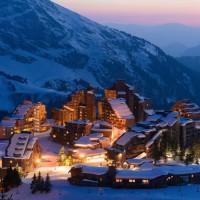 阿沃里亚兹滑雪场唯美动态壁纸