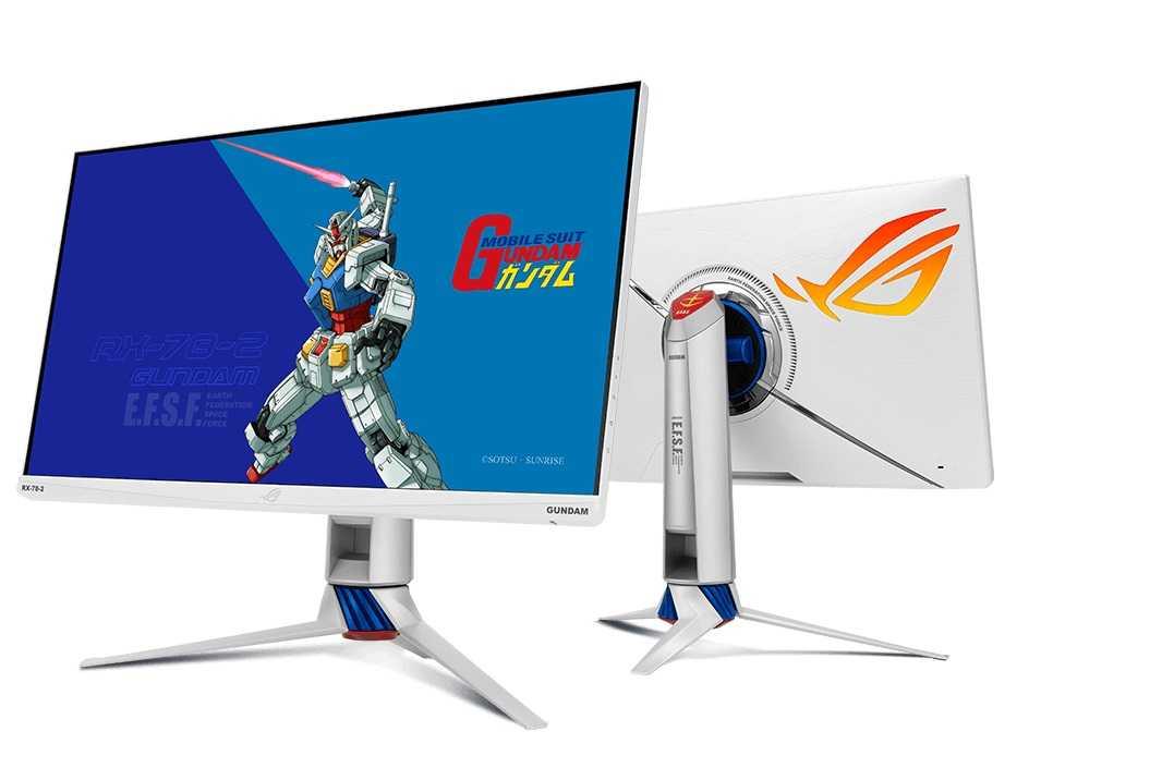 华硕发布 ROG Strix XG279Q-G 高达联名电竞显示器:170Hz 刷新率