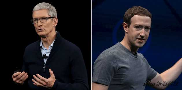 """库克和扎克伯格是如何因为""""隐私""""成为敌人的"""