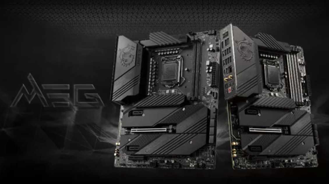 微星发布 24K 金限量 MEG Z590 ACE 战神主板