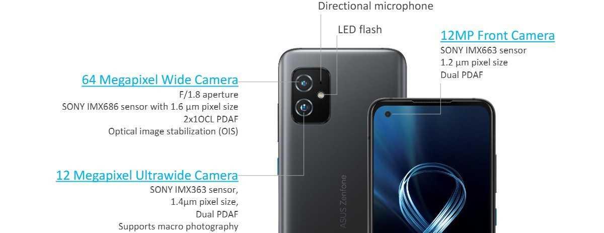 华硕 Zenfone 8/8 Flip 发布:前者为 5.9 英寸骁龙 888 小屏旗舰,后者搭载翻转摄像头