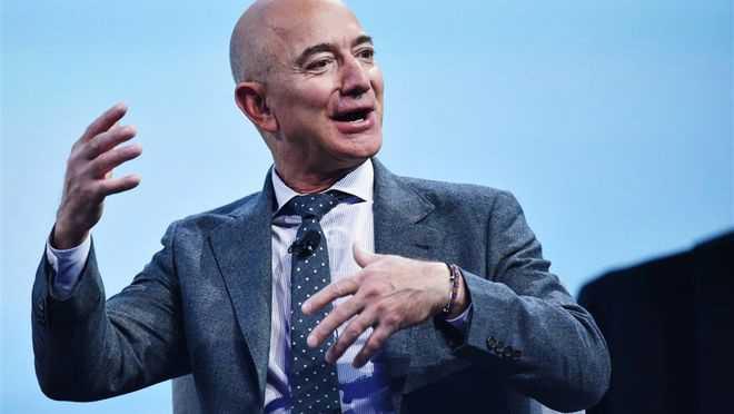 贝索斯四天套现亚马逊价值 50 亿美元股票,净赚 49 亿
