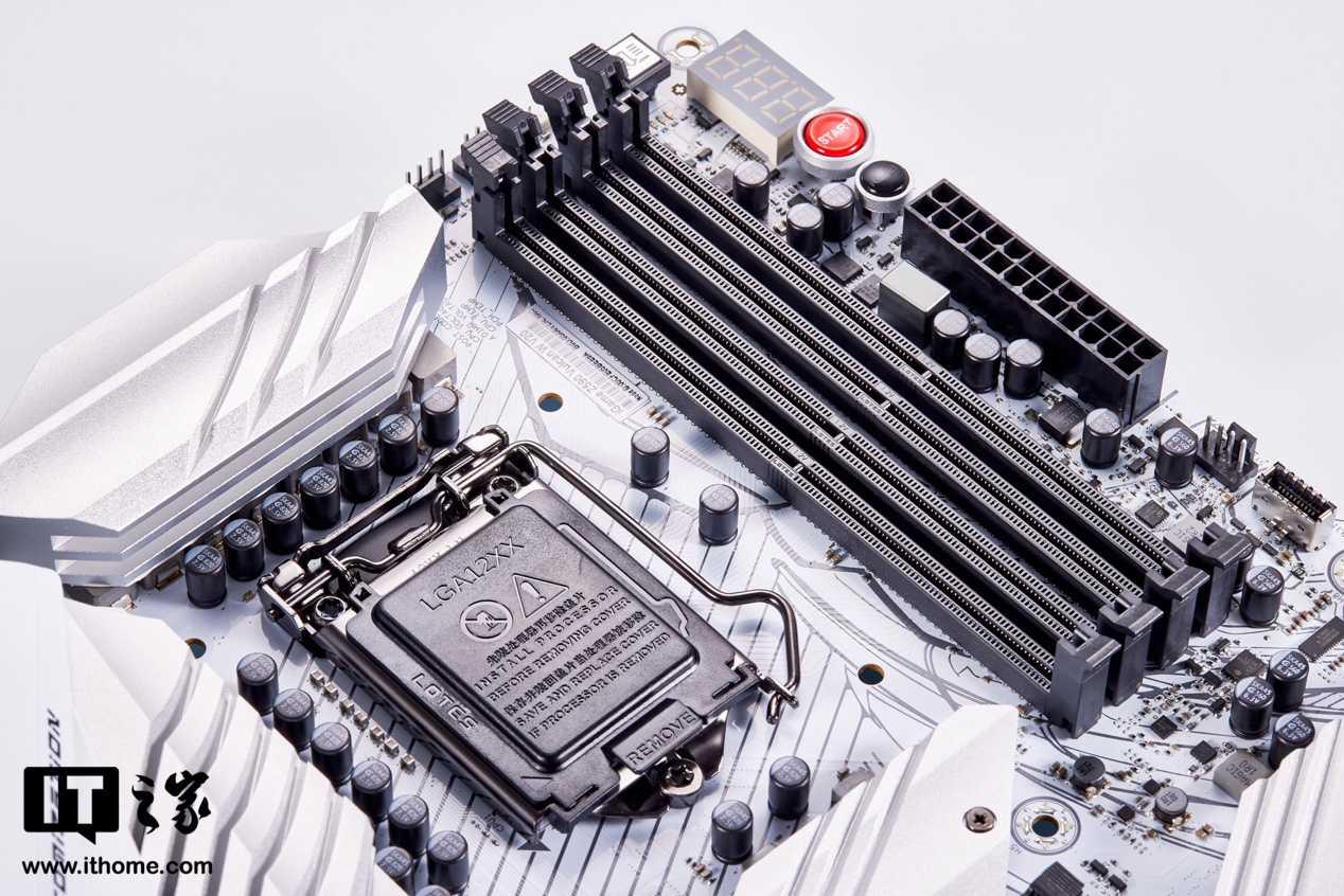 【IT之家评测室】白色主板新选择,七彩虹 iGame Z590 Vulcan W 评测