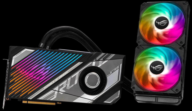 华硕推出 RTX 3080 Ti / 3070 Ti 系列显卡: 含水冷版本,高耐久设计