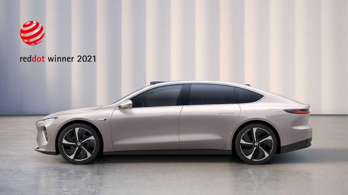 蔚来:智能电动旗舰轿车 ET7 获 2021 年红点奖