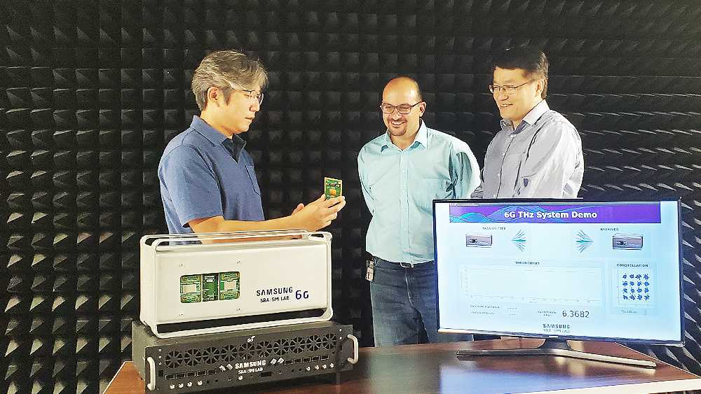 三星电子展示 6G 太赫兹无线通信原型系统:已实现 6.2Gbps 传输速度,目标 1000Gbps