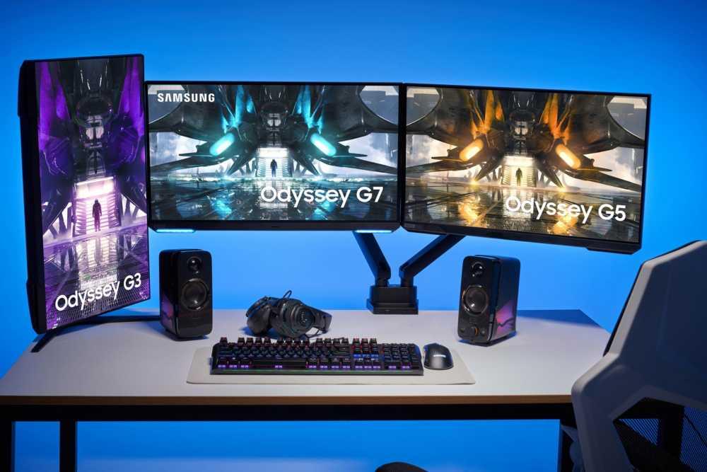 三星奥德赛系列游戏显示器上新,最高 28 英寸 4K 144Hz HDR 400